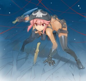 Rating: Questionable Score: 52 Tags: ass jakuzure_nonon kill_la_kill miyo_(bucktick1999) naked thighhighs weapon User: Radioactive