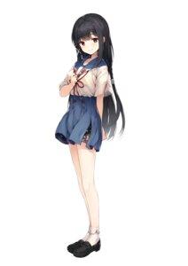 Rating: Safe Score: 59 Tags: hitoyoshi_aoi onsen_musume seifuku senji User: saemonnokami