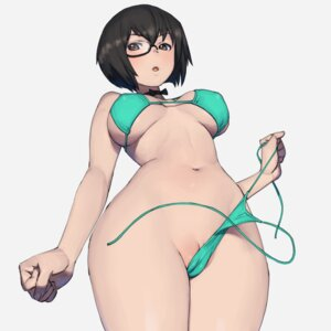 Rating: Explicit Score: 36 Tags: bikini cameltoe erect_nipples girls_und_panzer kawashima_momo megane onsen_tamago_(hs_egg) pussy swimsuits undressing User: Mr_GT