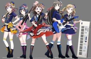 Rating: Safe Score: 10 Tags: bang_dream! guitar hanazono_tae heels ichigaya_arisa tagme thighhighs toyama_kasumi transparent_png ushigome_rimi yamabuki_saaya User: saemonnokami
