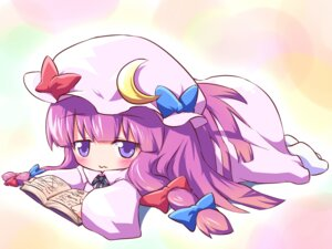 Rating: Safe Score: 16 Tags: ayakashi_(artist) chibi patchouli_knowledge touhou User: Manabi