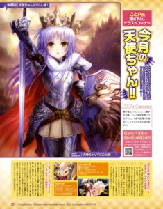 Rating: Questionable Score: 45 Tags: angel_beats! armor goto-p sword tenshi thighhighs User: drop