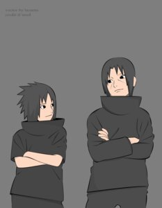 Rating: Safe Score: 4 Tags: male naruto signed transparent_png uchiha_itachi uchiha_sasuke vector_trace User: Davison