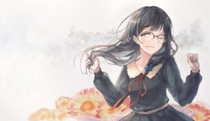Rating: Safe Score: 25 Tags: flowers hanabishi_rikka kobuta megane seifuku User: Mr_GT