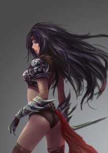 Rating: Safe Score: 33 Tags: akanotsuki armor sword thighhighs User: gawl