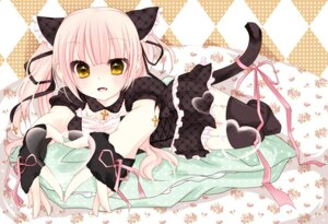 Rating: Safe Score: 26 Tags: animal_ears lolita_fashion nekomimi sakuragi_yuzuki stockings tail thighhighs User: Riven