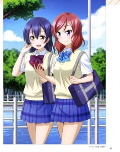 Rating: Safe Score: 25 Tags: love_live! love_live!_school_idol_diary_special_edition nishikino_maki otono_natsu seifuku sonoda_umi User: drop