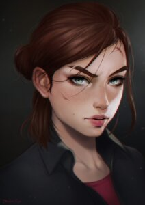 Rating: Questionable Score: 17 Tags: dandon_fuga ellie the_last_of_us User: NotRadioactiveHonest