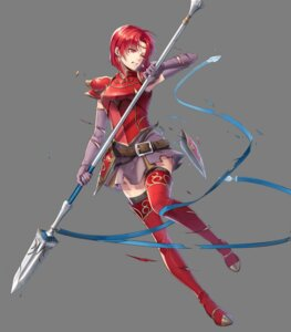 Rating: Questionable Score: 5 Tags: 6u armor fire_emblem fire_emblem:_rekka_no_ken fire_emblem_heroes heels melady nintendo thighhighs torn_clothes weapon User: fly24