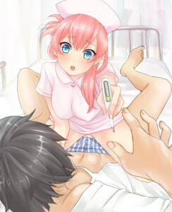 Rating: Questionable Score: 47 Tags: erect_nipples masami_chie megurine_luka nurse vocaloid User: charunetra