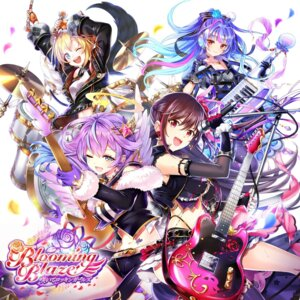 Rating: Safe Score: 13 Tags: cleavage disc_cover guitar headphones shironeko_project tagme tattoo User: 蕾咪