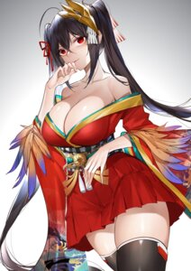 Rating: Questionable Score: 23 Tags: azur_lane horz japanese_clothes no_bra open_shirt taihou_(azur_lane) thighhighs User: Mr_GT