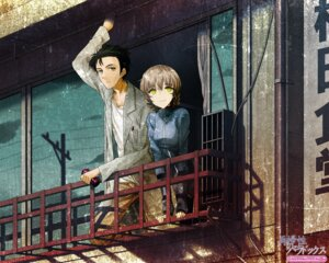 Rating: Safe Score: 30 Tags: 2c=galore amane_suzuha okabe_rintarou steins;gate wallpaper User: clover