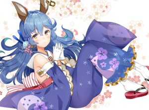 Rating: Safe Score: 40 Tags: animal_ears ferry_(granblue_fantasy) granblue_fantasy kimono nan_(jyomyon) User: Mr_GT