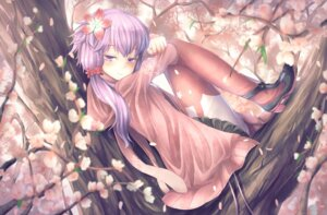 Rating: Safe Score: 40 Tags: heels pantyhose sweater t.m_(aqua6233) vocaloid yuzuki_yukari User: Mr_GT