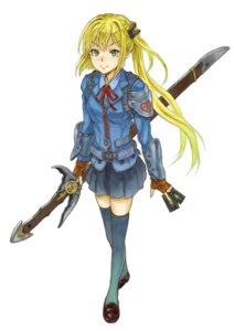 Rating: Safe Score: 23 Tags: armor cocoroten kaku-san-sei_million_arthur seifuku sword technosmith_arthur(kaku-san-sei_million_arthur) thighhighs User: Radioactive