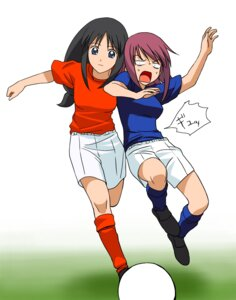 Rating: Safe Score: 5 Tags: a1 initial-g kaleido_star may_wong naegino_sora soccer User: Radioactive