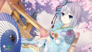 Rating: Safe Score: 37 Tags: date_a_live kimono tagme tobiichi_origami umbrella User: kiyoe