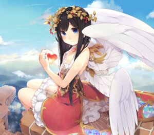 Rating: Safe Score: 47 Tags: ao_no_neko cleavage dress wings User: Mr_GT