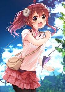 Rating: Safe Score: 19 Tags: horns machikado_mazoku pantyhose tail uneune yoshida_yuuko_(machikado_mazoku) User: leotard