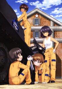 Rating: Safe Score: 10 Tags: girls_und_panzer hoshino_(girls_und_panzer) nakajima_satoko suzuki_(girls_und_panzer) tsuchiya_(girls_und_panzer) uniform User: drop
