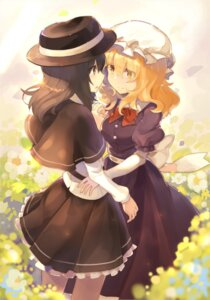 Rating: Safe Score: 24 Tags: dress maribel_hearn rin_falcon touhou usami_renko yuri User: RyuZU