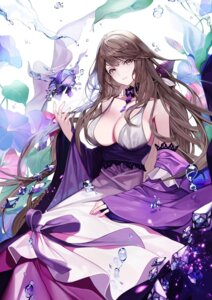 Rating: Questionable Score: 29 Tags: chicken_(dalg-idalg) cleavage dress forever_7th_capital no_bra User: Dreista