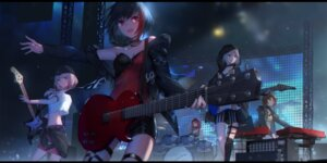 Rating: Safe Score: 39 Tags: aoba_moca bang_dream! cleavage garter guitar hazawa_tsugumi mitake_ran stockings swd3e2 tagme thighhighs udagawa_tomoe uehara_himari User: Nepcoheart