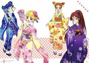Rating: Questionable Score: 5 Tags: aikatsu! arisugawa_otome hoshimiya_ichigo kimono kiriya_aoi shibuki_ran User: Radioactive