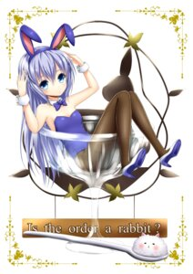 Rating: Questionable Score: 43 Tags: animal_ears bunny_ears bunny_girl fishnets gochuumon_wa_usagi_desu_ka? heels kafuu_chino loli no_bra oosato_haya pantyhose tippy_(gochuumon_wa_usagi_desu_ka?) User: Mr_GT