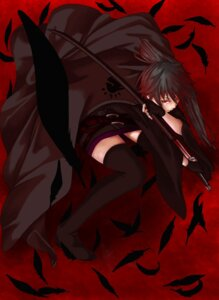 Rating: Safe Score: 14 Tags: ichiyuu karasuba sekirei thighhighs User: Radioactive