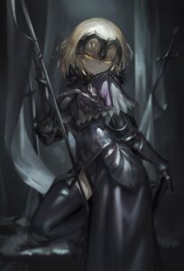 Rating: Safe Score: 55 Tags: armor avamone fate/apocrypha fate/grand_order fate/stay_night ruler_(fate/apocrypha) sword thighhighs weapon User: Mr_GT