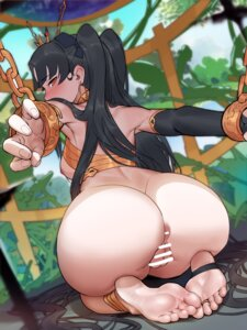 Rating: Explicit Score: 35 Tags: anus ass bondage bottomless breasts censored fate/grand_order feet ishtar_(fate/grand_order) nipples no_bra pussy tagme User: Mr_GT