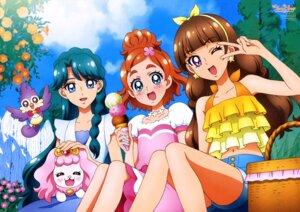 Rating: Safe Score: 15 Tags: akada_nobuhito amanogawa_kirara aroma_(precure) dress go!_princess_pretty_cure haruno_haruka kaidou_minami pretty_cure puff_(precure) User: drop