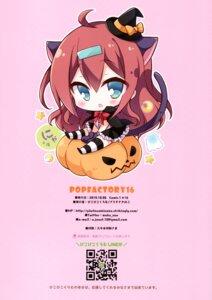 Rating: Safe Score: 10 Tags: animal_ears chibi halloween nekomimi picpicgram tagme tail thighhighs witch User: kiyoe