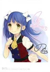 Rating: Safe Score: 30 Tags: autographed k-books ousaka_nozomi seifuku User: WtfCakes