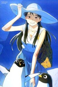 Rating: Safe Score: 17 Tags: arai_youjirou cleavage lady_(penguin_highway) penguin penguin_highway User: drop