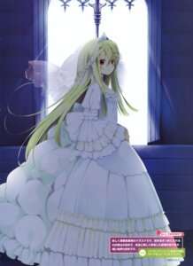 Rating: Questionable Score: 49 Tags: dress natsume_eri wedding_dress User: fireattack