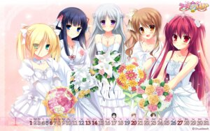 Rating: Safe Score: 54 Tags: calendar chuablesoft cleavage dress lovera_bride mikami_haruka_(lovera_bride) mutou_kurihito omigawa_hitomi sakuranomori_misaki sasha_(lovera_bride) takano_yuki wallpaper wedding_dress yuki_nao User: blooregardo