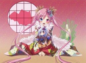 Rating: Safe Score: 43 Tags: chibi chua_churam chuchu_astram chu_chu_idol heterochromia kimono nakauchi_chiyu ozawa_akifumi User: petopeto