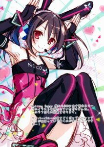 Rating: Safe Score: 6 Tags: animal_ears bunny_ears headphones sketch tagme thighhighs toosaka_asagi User: kiyoe