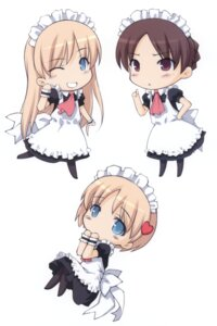 Rating: Safe Score: 11 Tags: chibi maid noantica ooji pantyhose User: midzki