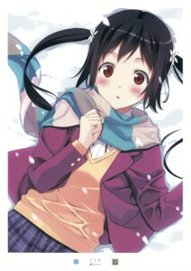 Rating: Safe Score: 16 Tags: fumio mizuki_mana seifuku sweater white_album User: Hatsukoi