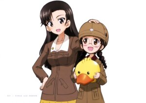 Rating: Safe Score: 9 Tags: fukuda_(girls_und_panzer) girls_und_panzer megane nishi_kinuyo uniform User: drop