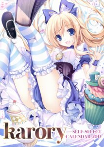 Rating: Safe Score: 101 Tags: alice alice_in_wonderland dress karory thighhighs User: Twinsenzw
