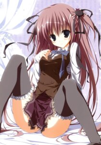 Rating: Questionable Score: 62 Tags: ebiten inugami_kira kanamori_hakata seifuku thighhighs User: crim