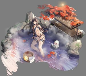 Rating: Questionable Score: 63 Tags: azur_lane cleavage crossover dead_or_alive garter manjuu_(azur_lane) nyotengu onsen stockings swimsuits tagme thighhighs transparent_png wet User: BattlequeenYume