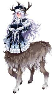 Rating: Safe Score: 18 Tags: animal_ears horns kenkou_cross monster_girl tail User: NotRadioactiveHonest