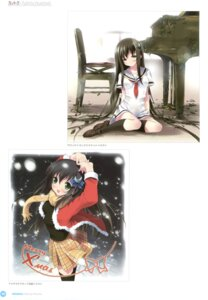 Rating: Questionable Score: 17 Tags: amesarasa chiyokawa_rin kantoku User: Twinsenzw