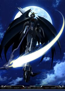 Rating: Safe Score: 15 Tags: gundam gundam_deathscythe gundam_wing mecha shino_masanori weapon User: drop
